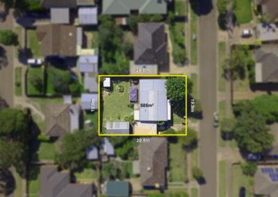 Aerial Photo plan view
