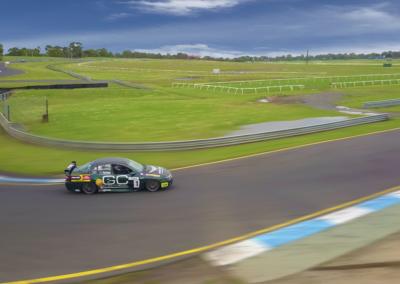 Racing aerial video