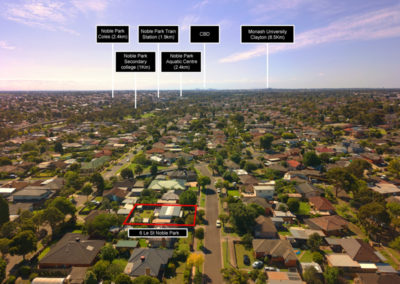 Melbourne Estate Agent drone photography