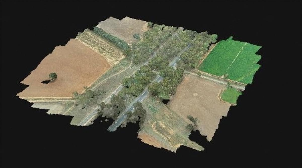 aerial survey pre planning construction